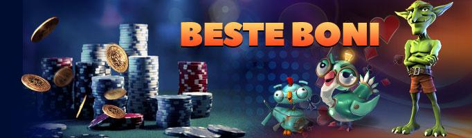 online casino bonuscode